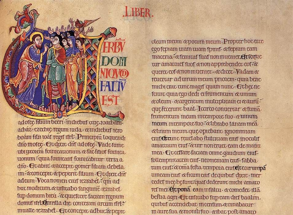 What are illuminated manuscripts and what was important about them?
