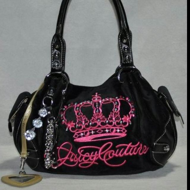 Cutest Juicy bag with crown, bling--and a mirror, so I can gaze at myself all day!