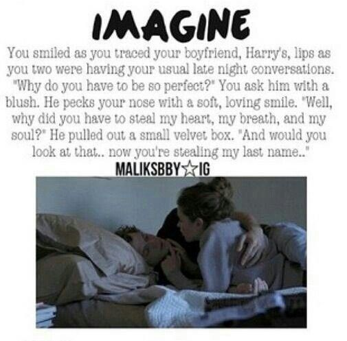 Another Proposal Harry Styles Imagine