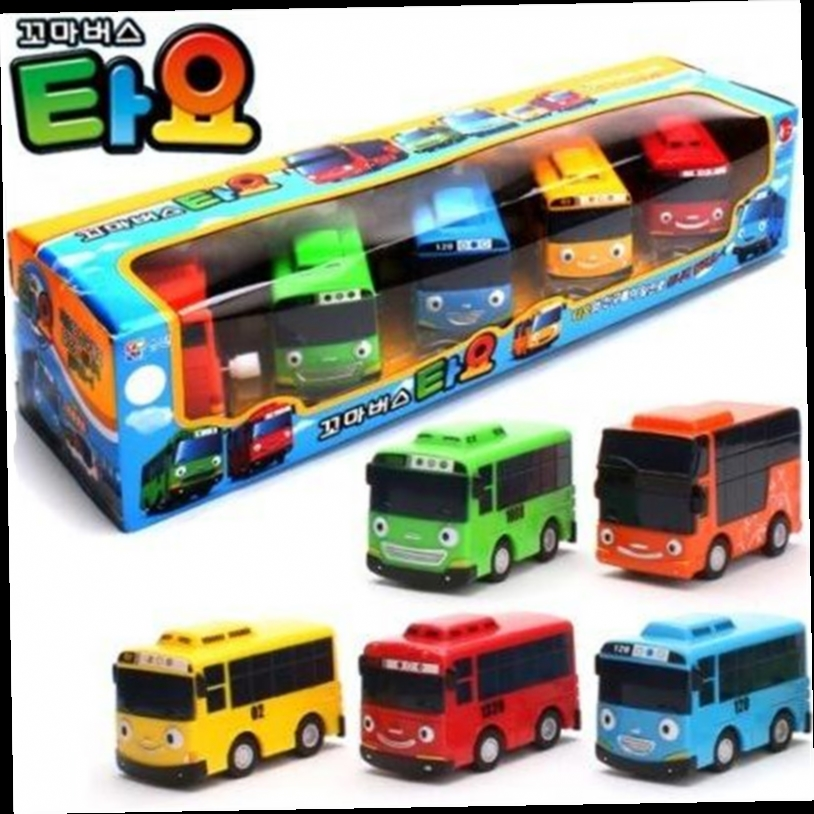 42.12$  Buy here - http://ali6pe.worldwells.pw/go.php?t=32511261407 - hot sale 1:43 model car 5pcs/set tayo children miniature bus mini plastic babies little tayo toy model bus