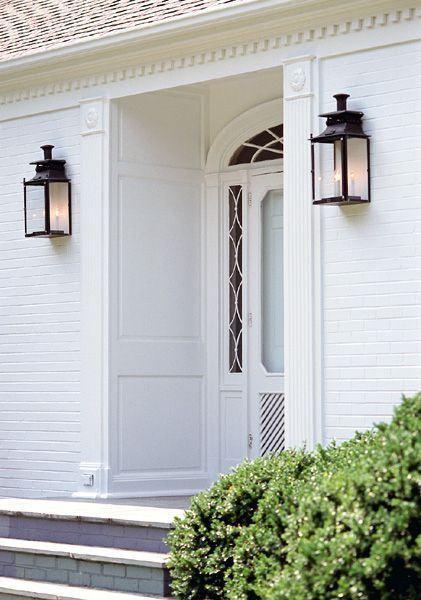 installations exterior light fixtures