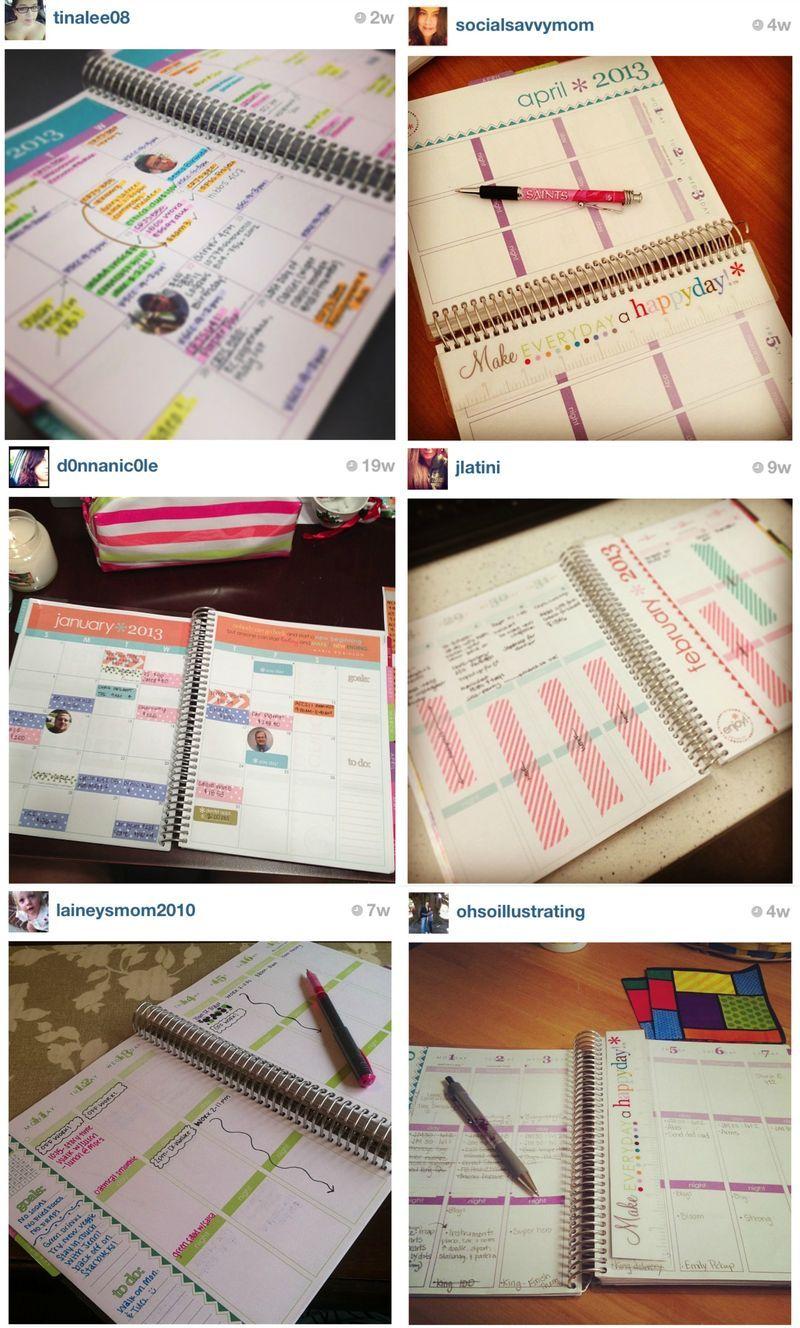 Erin Condren LIFE PLANNER Inspiration - Amanda Rose blog