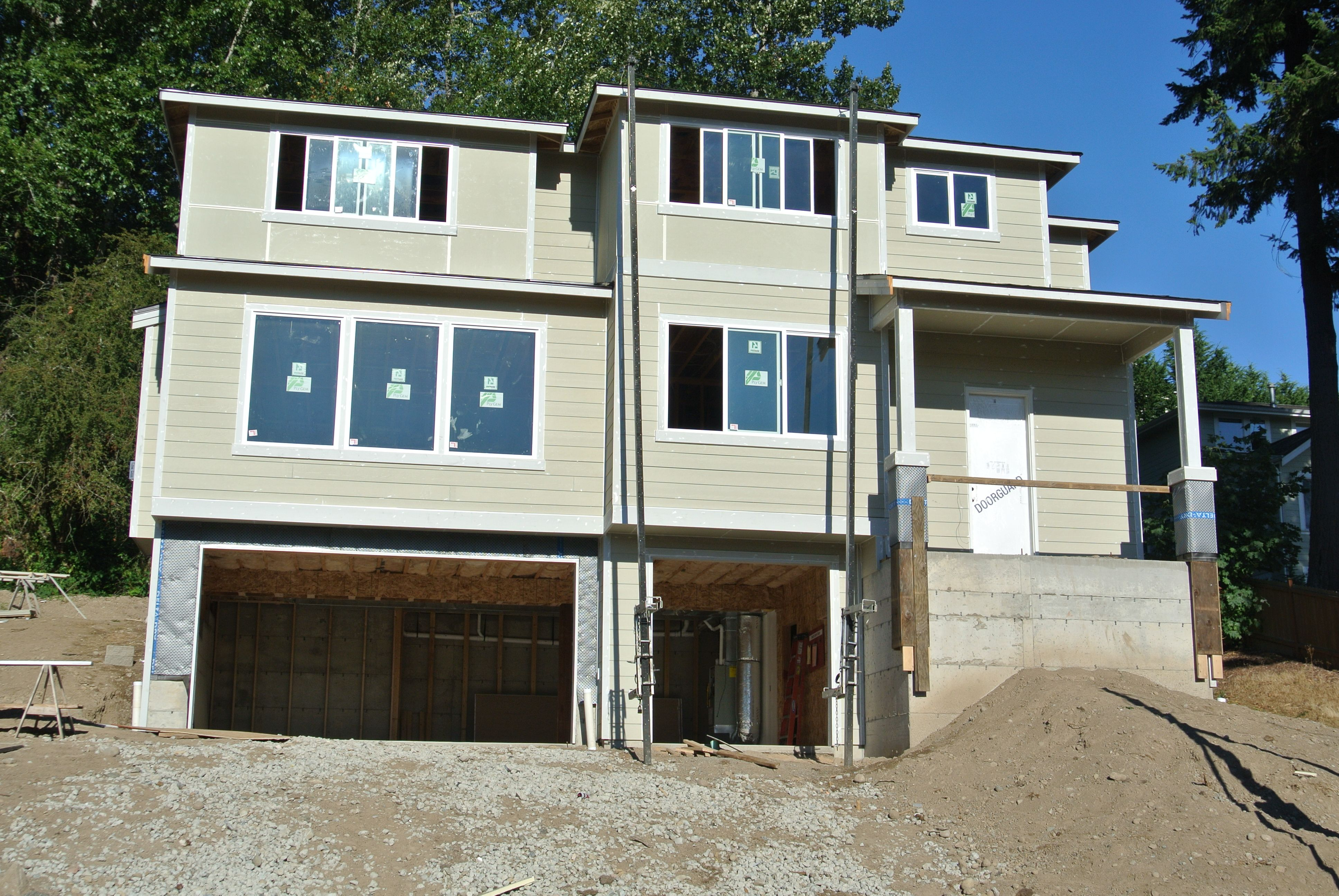 Canterbury at double eagle siding is completed this