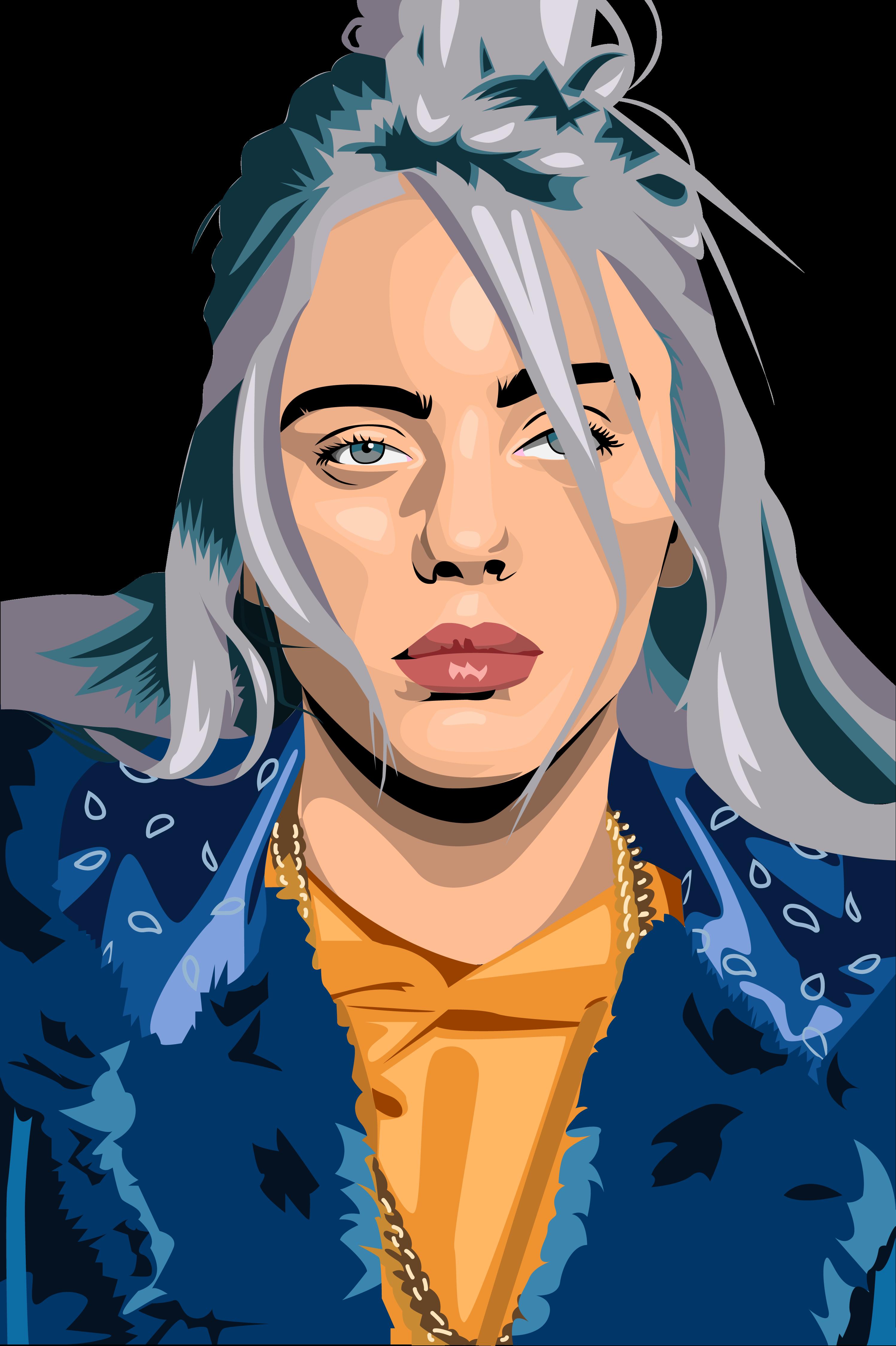 Billie Eilish By 4thwinter On Deviantart Billie Eilish Billie Digital Drawing