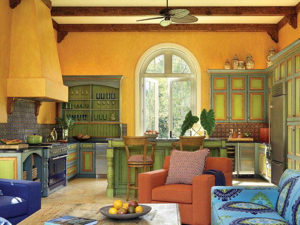 Bunte Küche Design Ideen - Schlafzimmer | Hausmodelle | Pinterest