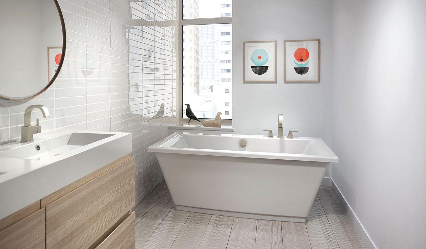 Fiore™ Freestanding Bath | Pinterest | Freestanding bath, Bath and ...