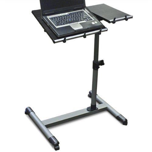 Special Price Wood Adjustable Rolling Computer Laptop Desk Computer Desk  Educational Deska