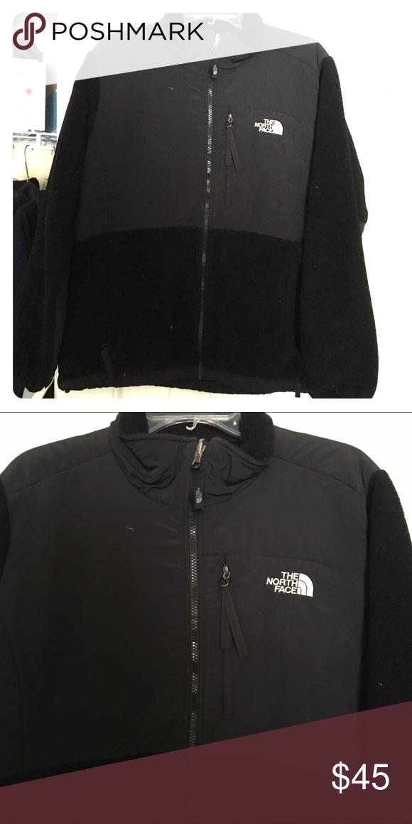 Ladies Denali North Face jacket Black color. Full zip. The North Face Jackets & Coats