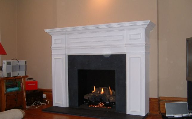 This Mantle Has Beautiful Detailing Fantastic Use Of Contrast