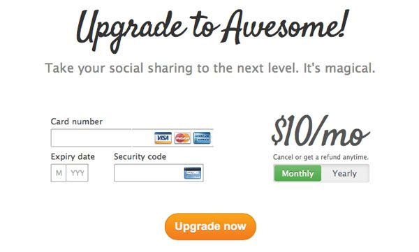 The Ultimate UX Design of: the Credit Card Payment Form   Money ...
