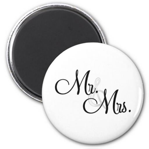 Mr. and Mrs Magnet