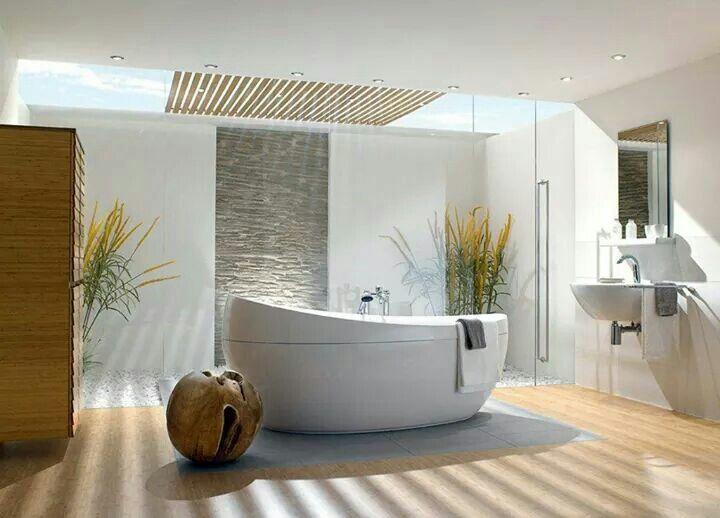 Baño con tina Baños de ensueño Pinterest Room closet, Bath