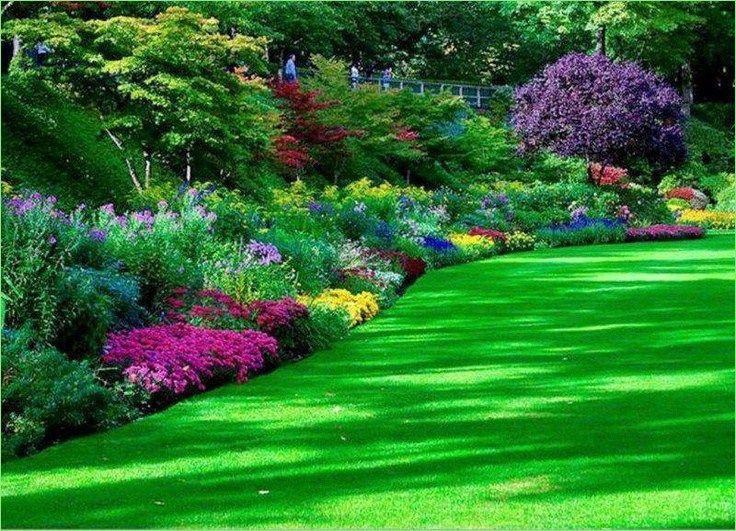 47 Stunning Border Flower Garden Ideas, Flowers Gardens And Landscapes
