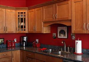 Red Kitchen Walls Not Sure But Has Me Thinking About Some Color