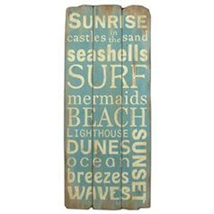 Surf Signs Decor Enchanting Inspirational Word Signs  Vintage Board Art Plank Word Art  Sand Inspiration