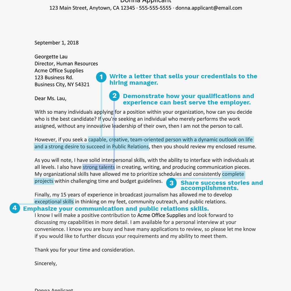 30+ Resume Cover Letter Example in 2020 Resume cover
