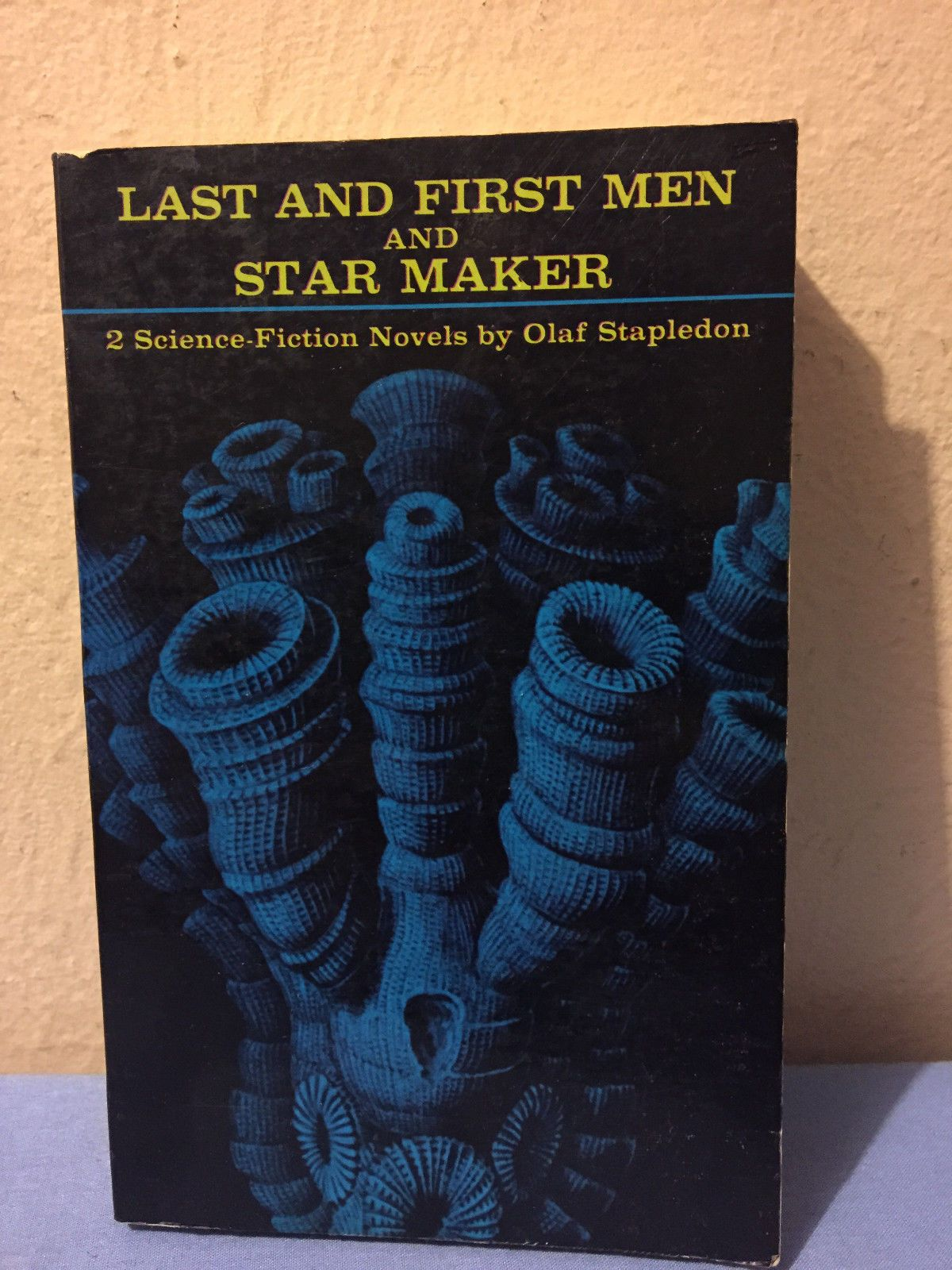 Olaf Stapledon Last And First Men A Story Of The Near And Far Future 1930 Science Fiction Novels Literary Humor Fiction