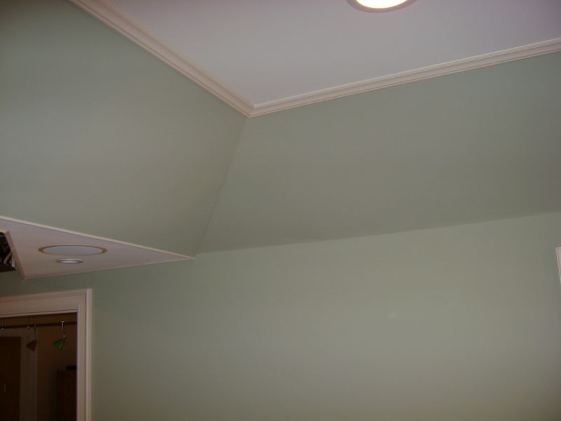 Trim Angled Tray Ceiling Google Search Bedroom Ceiling Tray