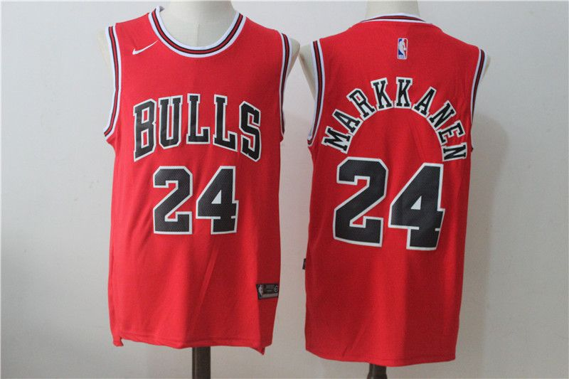 Nike NBA Chicago Bulls Swingman Markkanen #24 Jersey | JD Sports