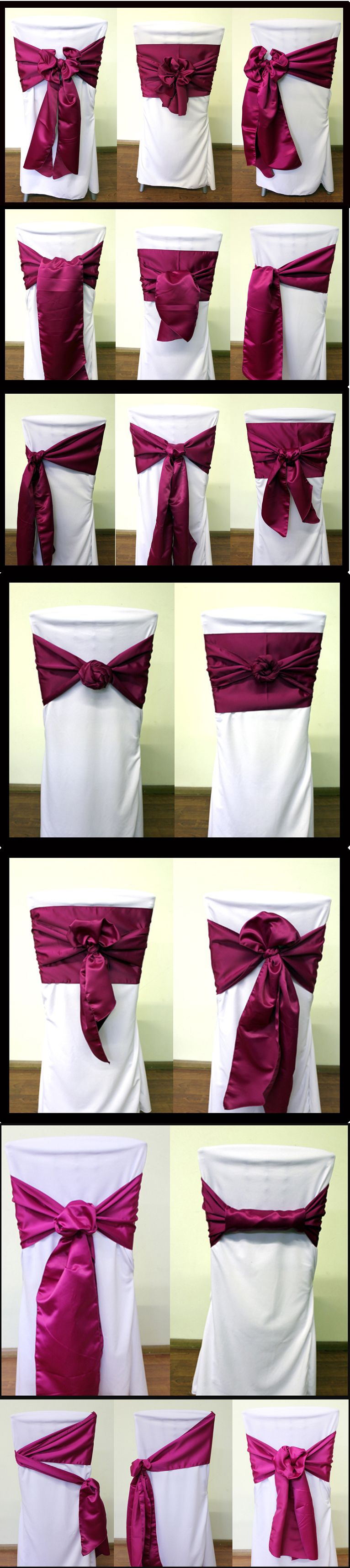 diy chair covers for wedding