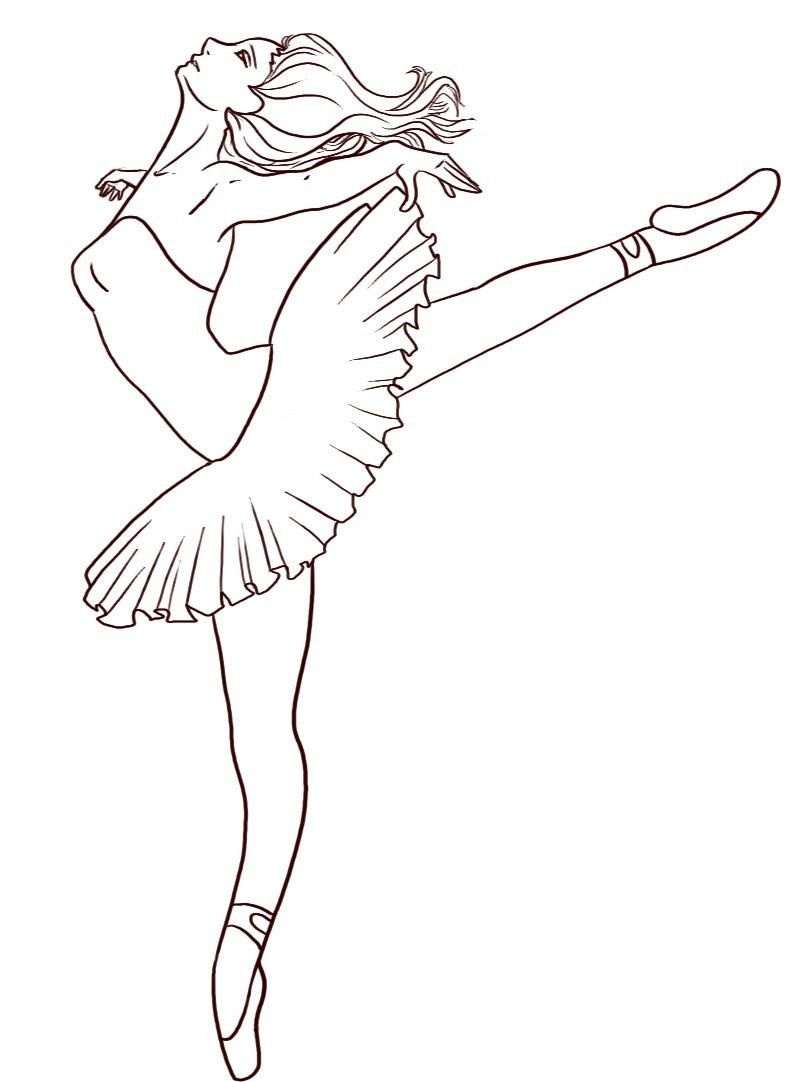 Free Printable Ballet Coloring Pages For Kids Dance Coloring