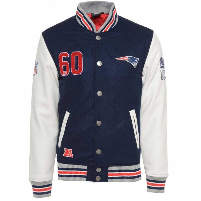 51fe55379 Majestic NFL New England Patriots Varsity Jacket £109.99 I WANT THIS SO  BAD!!