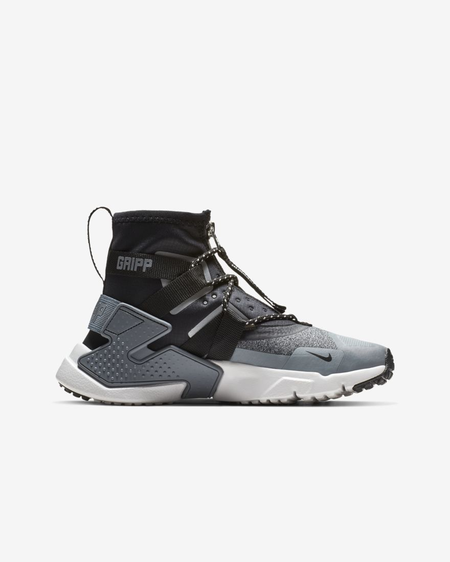 c750d3cfd32 Nike   Air Huarache Gripp Shield   Atmosphere Grey Vast Grey Cool Grey Black    Shoes   2018