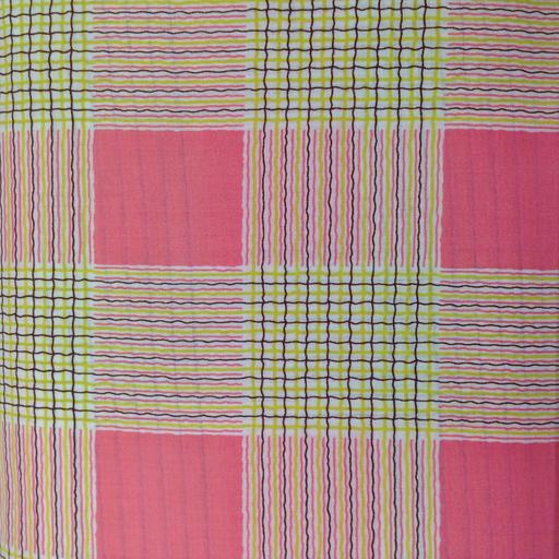 Kei - Lawn - Plaid - Pink : Sew Modern
