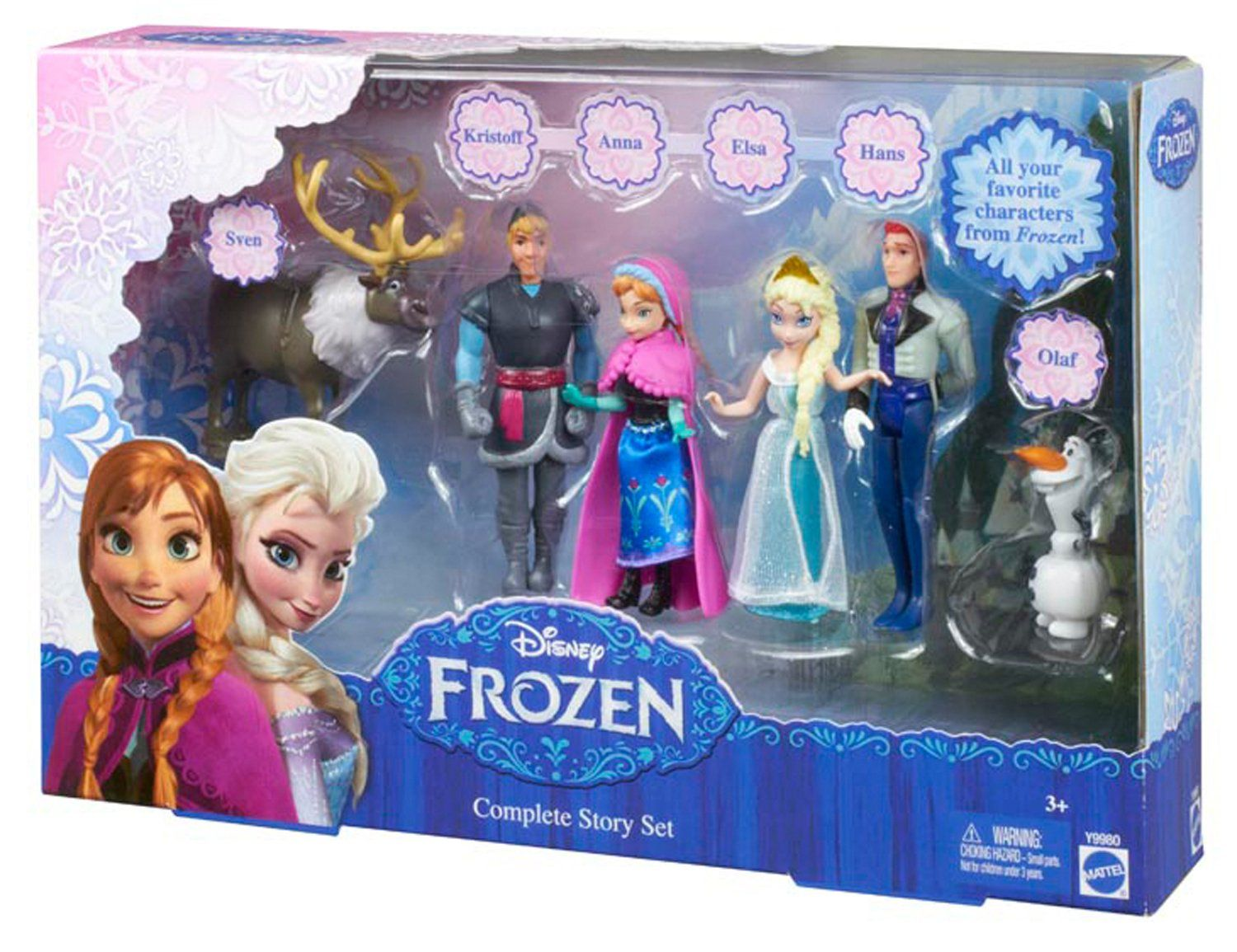 Amazon Disney Frozen Complete Story Playset Toys Games