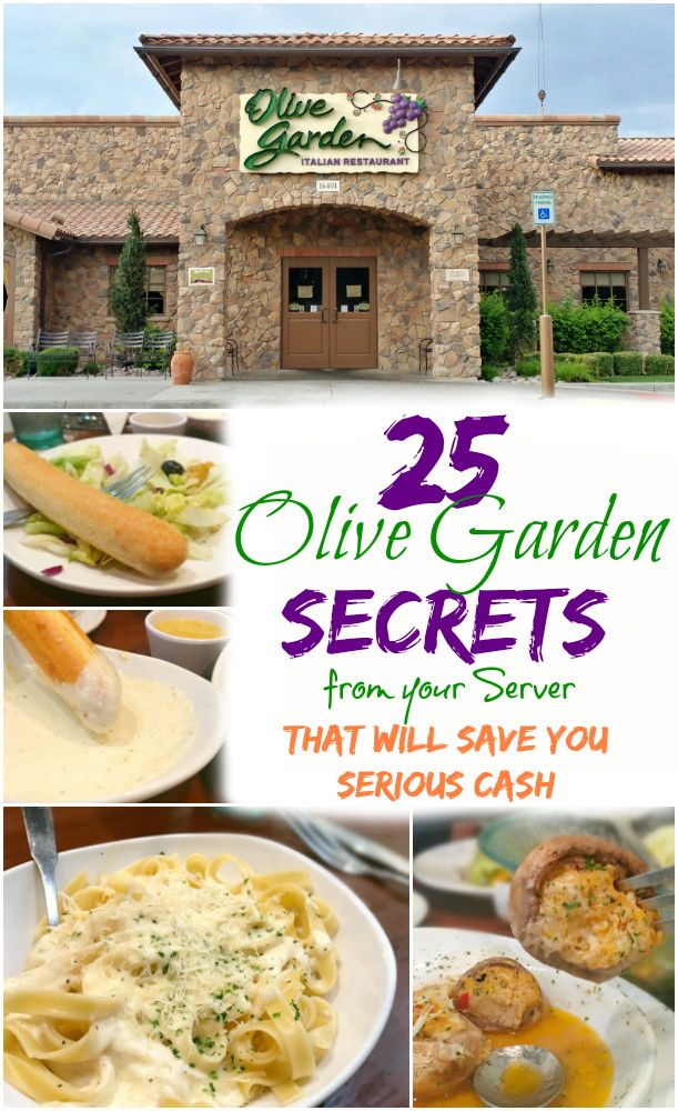 Olive Garden Hacks 24 Secrets Straight from Your Server