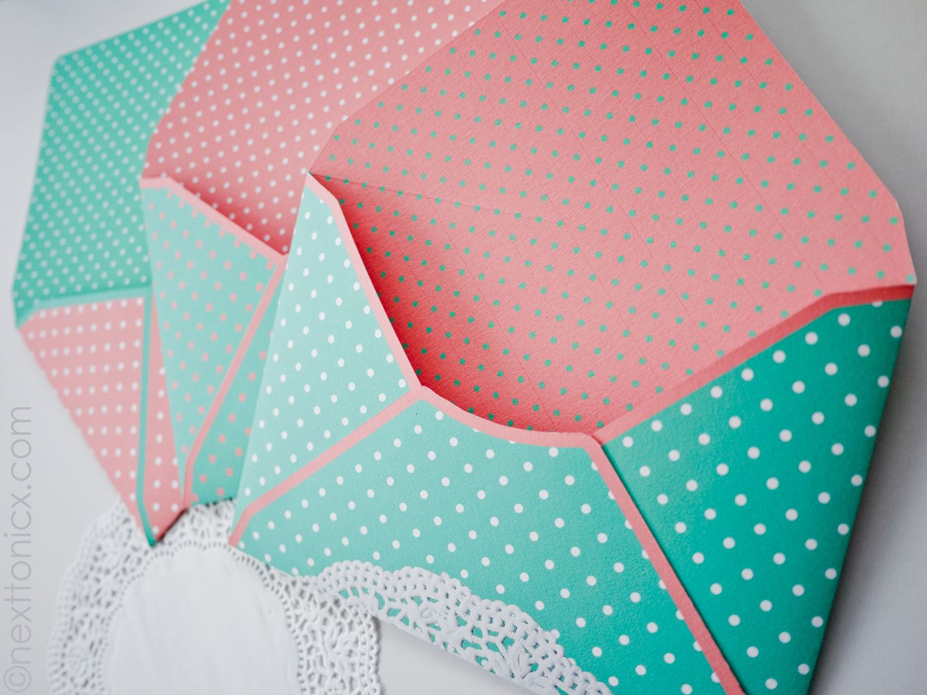 dots and doilies free envelope printable template and tutorial
