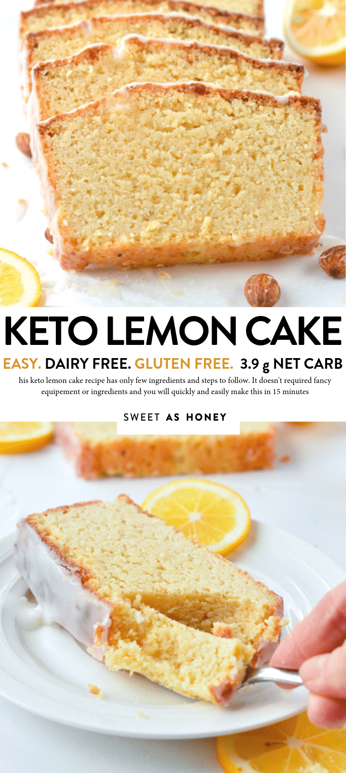 Keto Lemon Pound Cake With Almond Flour Dairy Free Gluten Free Ketolemonpoundcake Ketolemonc Lemon Pound Cake Recipe Gluten Free Pound Cake Dairy Free Cake