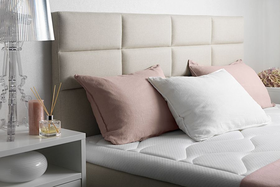 Stoff Crevin Ivory Bed Bed Pillows Home