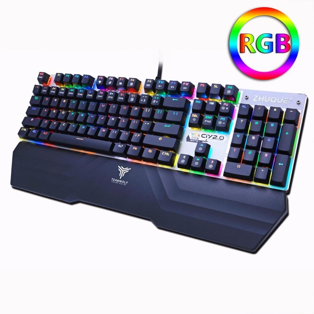 RGB Mechanical Backlit Keyboard CLICK HERE==>https//goo