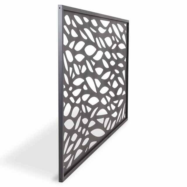 Panneau Feuille Aluminium Neva Anthracite Fence Panels Paneling Decor