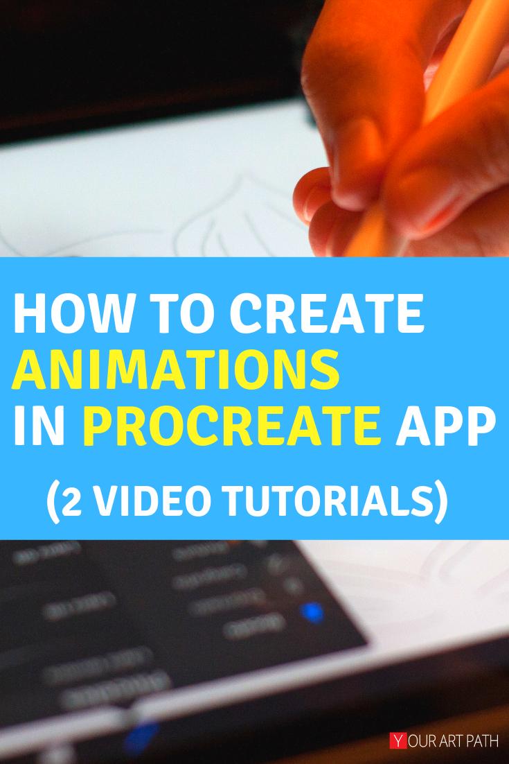 Procreate Animation on iPad Looping & Walk Cycle