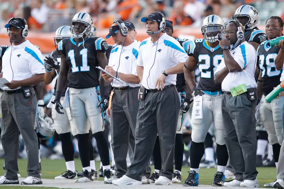 former New York Giants offensive coordinator Mike Shula is