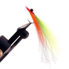 Mega Clouser Minnow Hand tied Fly fishing by HookInHandFlies