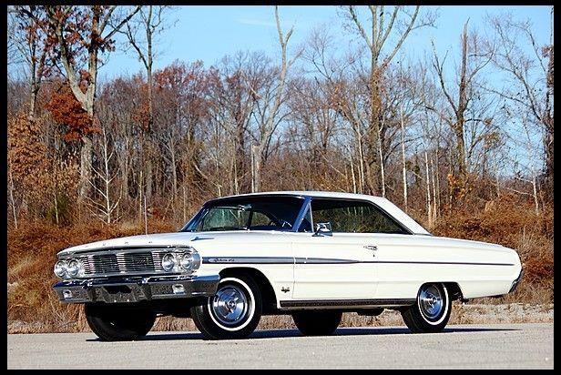 1964 Ford Galaxie 500 Hardtop R-Code 427/425 HP, 4-Speed  We