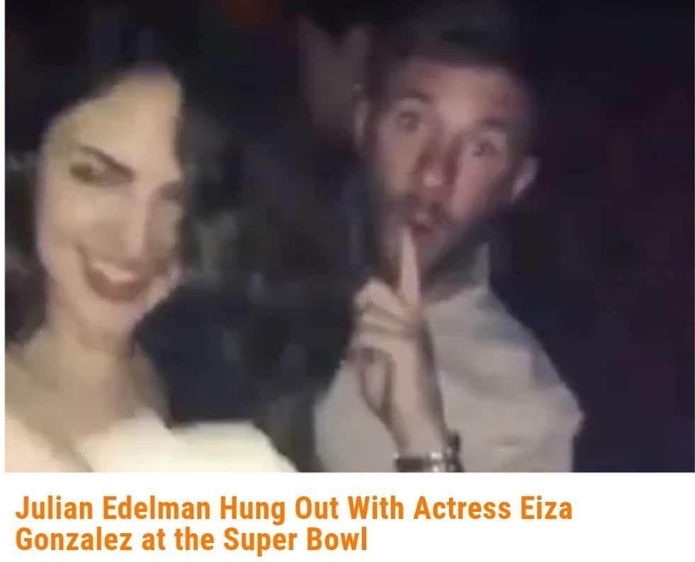 Eiza Gonzalez Estrena Romance Con Jugador De La Nfl Julian Edelman En 2020 Luke Bracey Jeremy Renner Eiza Gonzalez