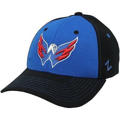 NHL Washington Capitals Uppercut Stretch Fit Hat (Extra Large)