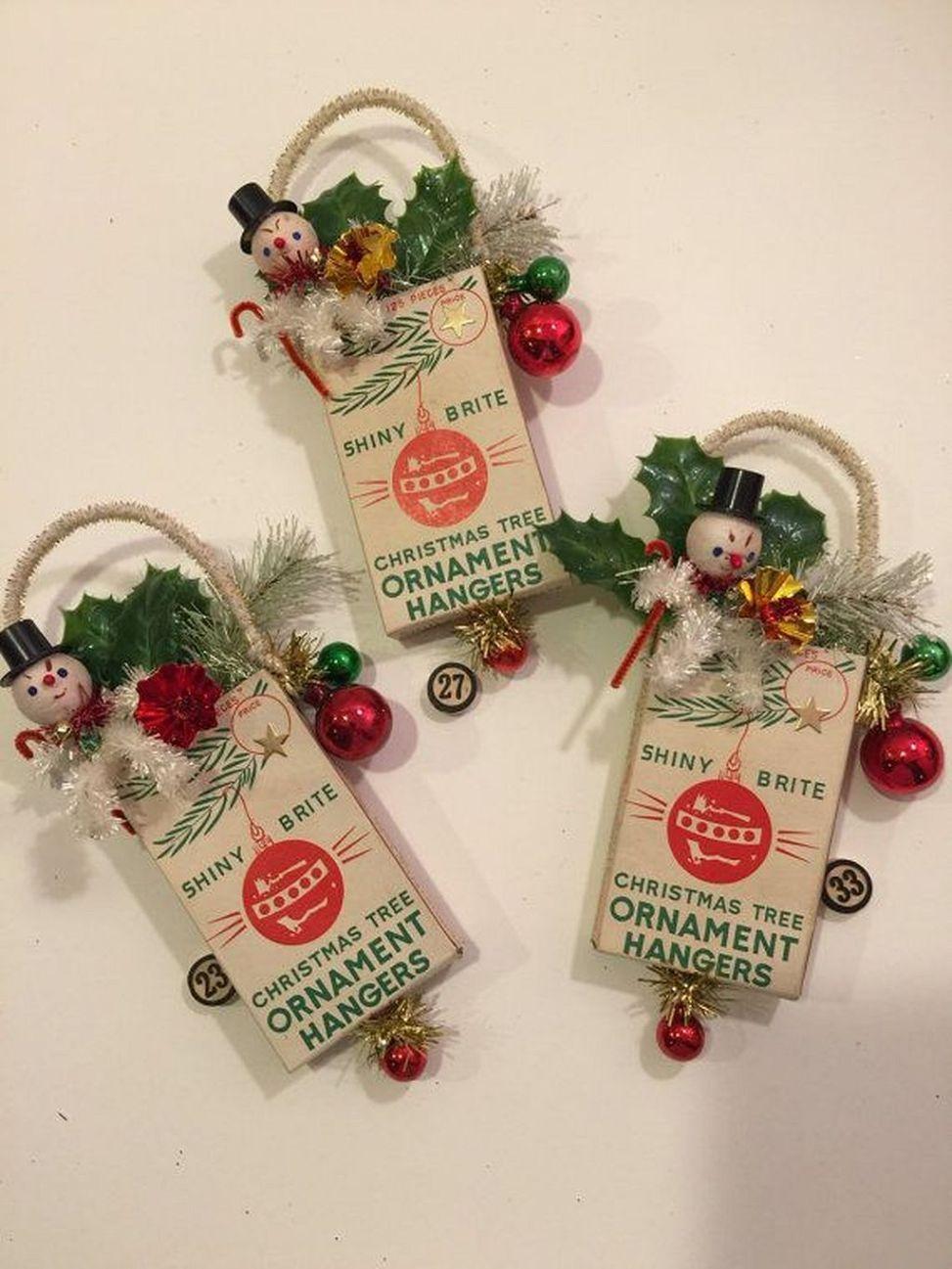 Amazing DIY Vintage Christmas Decor Ideas