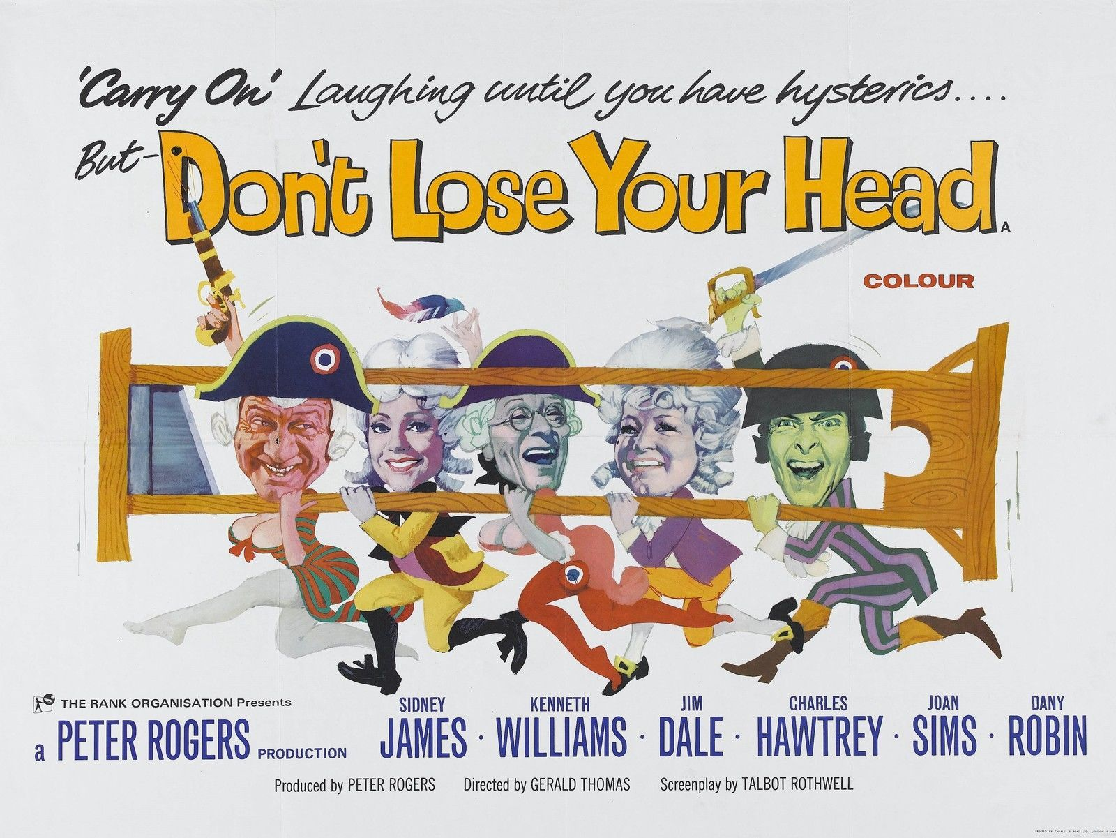 Carry on Don't Lose Your Head 1966 | British Comedy Movies ...