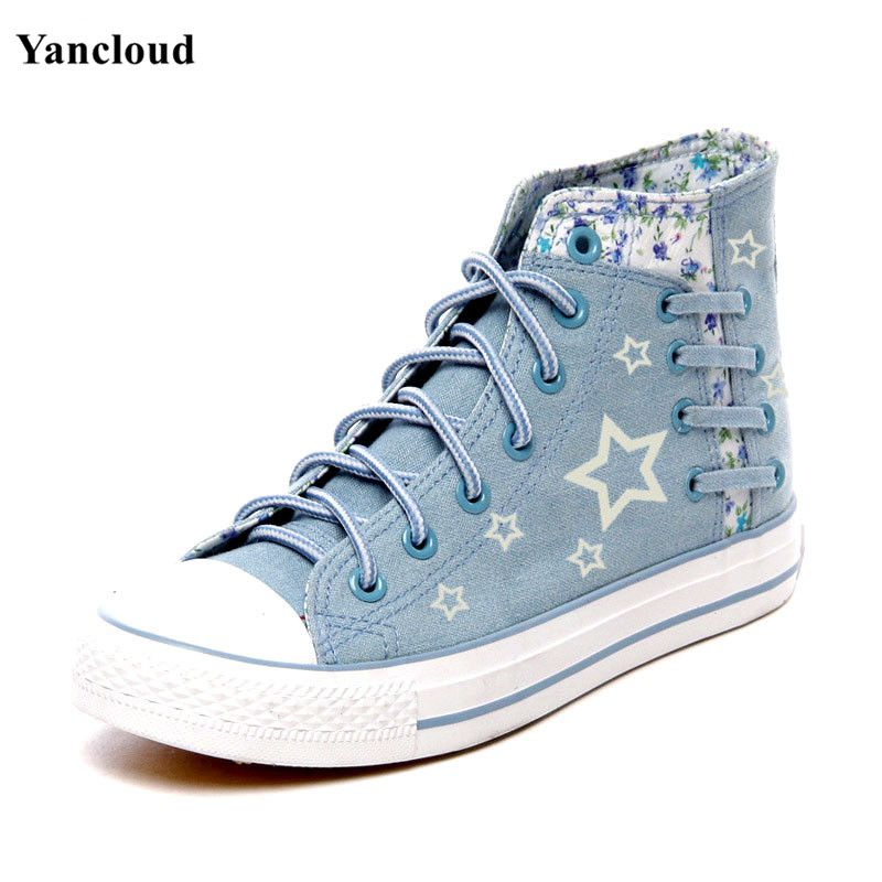 Cute Funny Horses Women Casual Shoes Skateboard Sports Spring Designer