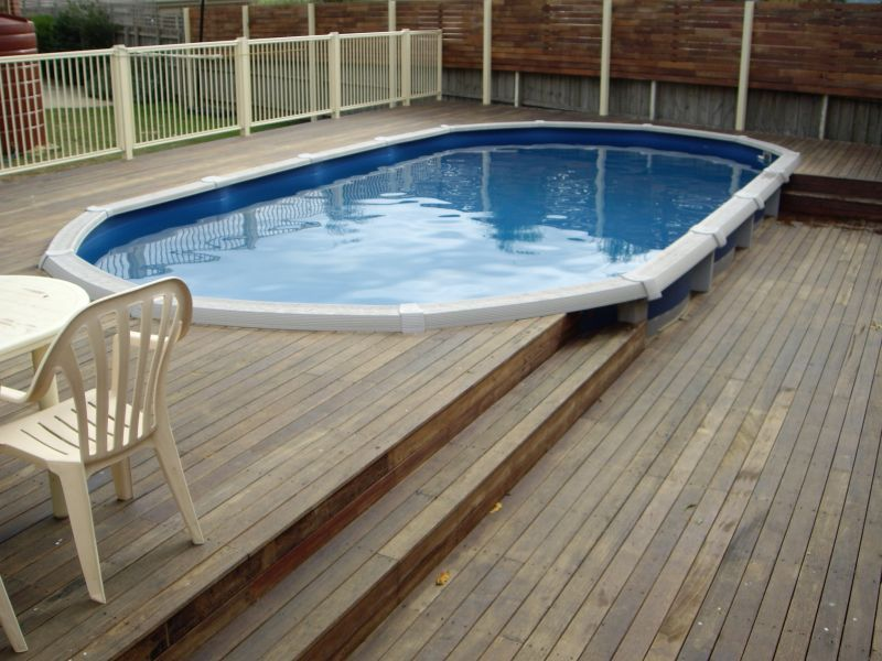 Above Ground Pool Deck Designs Best Backdeck Ideas Building A Deck In Ground Pools Pool