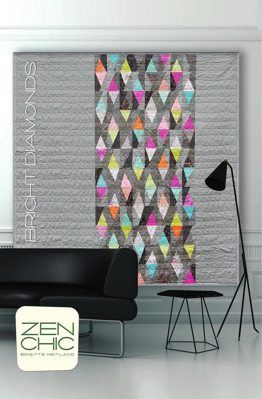 pdf download anleitung quillt bright diamonds brigitte heitland zuk nftige projekte. Black Bedroom Furniture Sets. Home Design Ideas