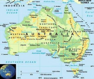 Pin by Enrique Román on map | Australia map, Australia, Great ...