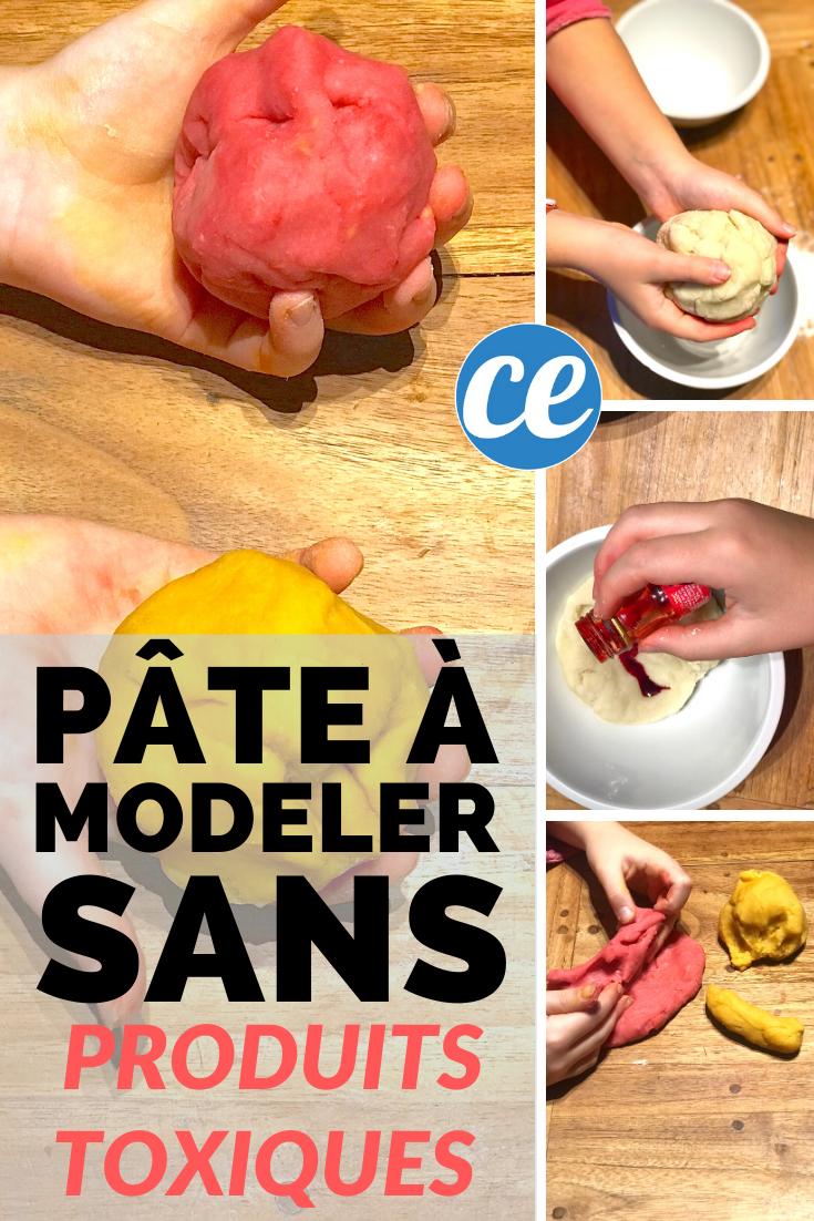 Comment Faire Une Pâte à Modeler 100% Naturelle SANS Danger Pour Vos Enfants | Recette | Pâte à ...
