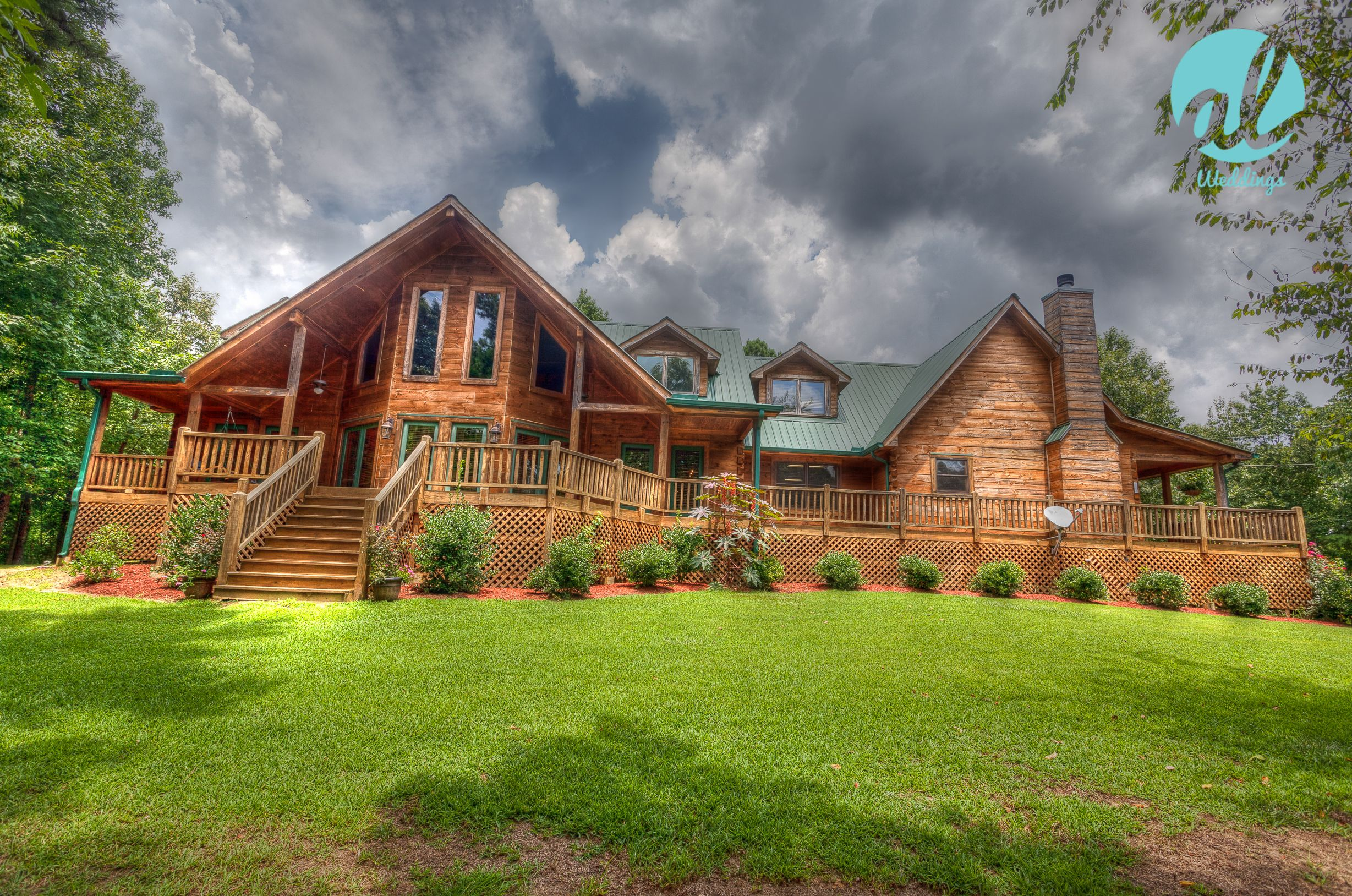HDR Photography Of Wedding Venue The Cabin At Lodge In Birmingham Al