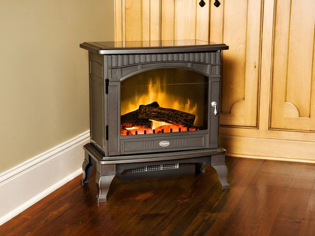 Electric fireplaces and Wood fireplace